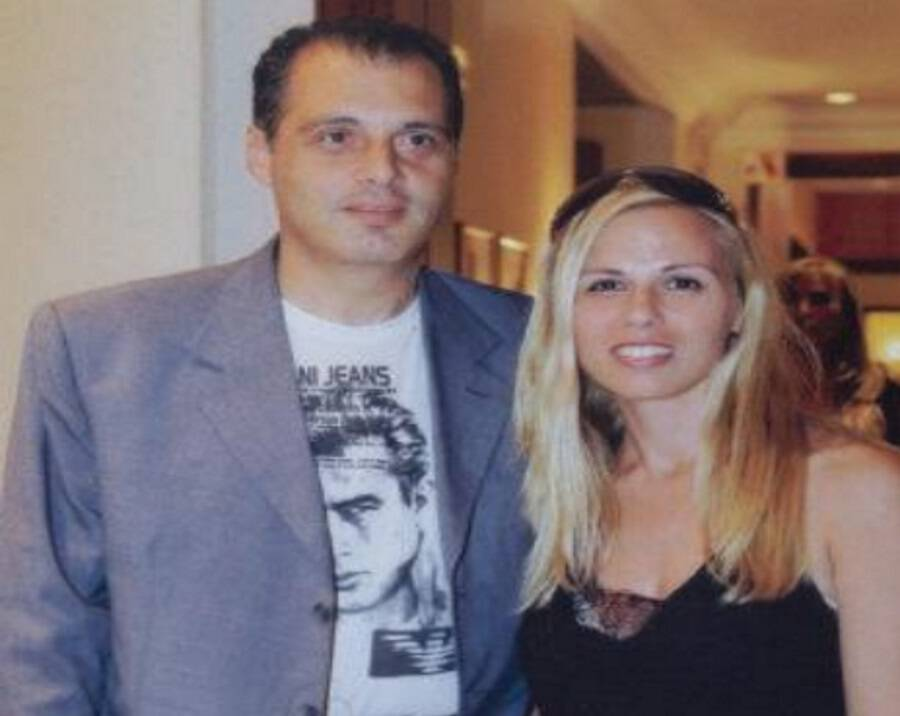 Αποτέλεσμα εικόνας για Κυριάκος Βελόπουλος με τη σύζυγό του Ολγα Πετροπούλου