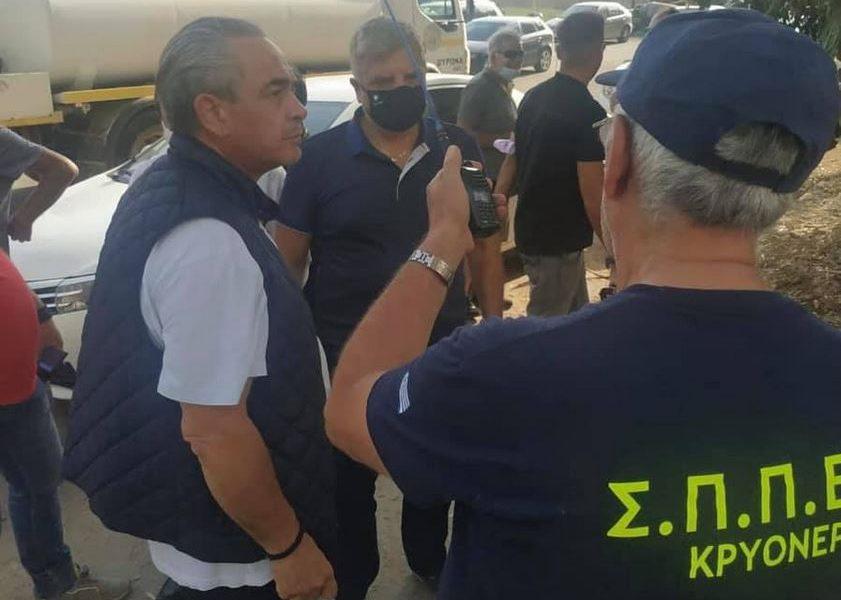 Η τελευταία ανάρτηση του Κωνσταντίνου Μίχαλου για τη φωτιά στο Κρυονέρι με  αιχμές για τους υπεύθυνους - eretikos.gr